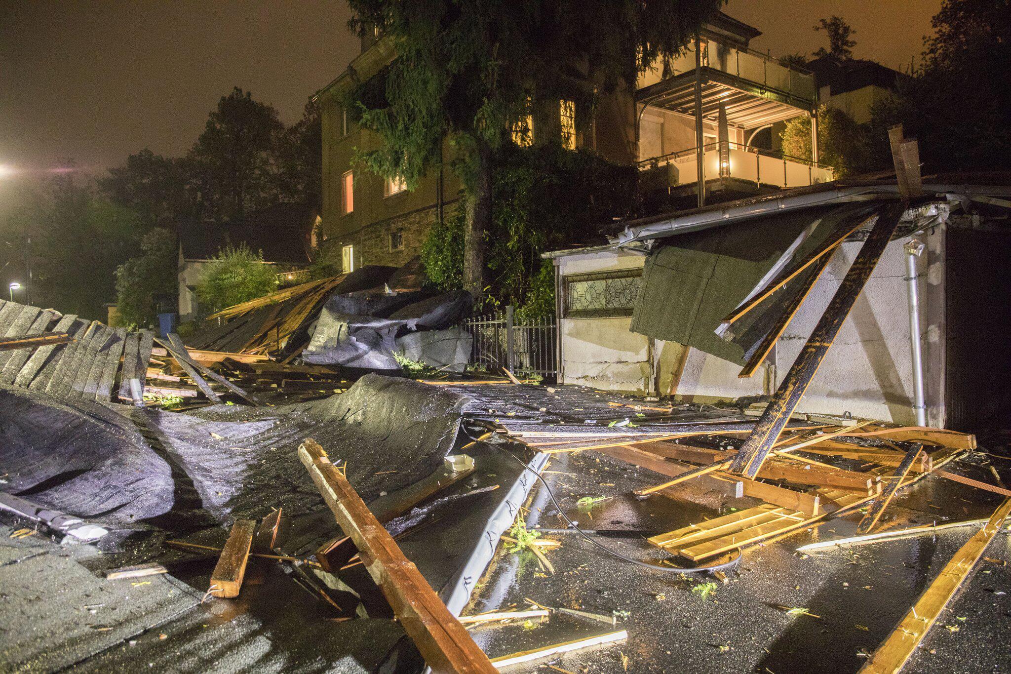 Bild zu Sturmtief Fabienne in Sachsen