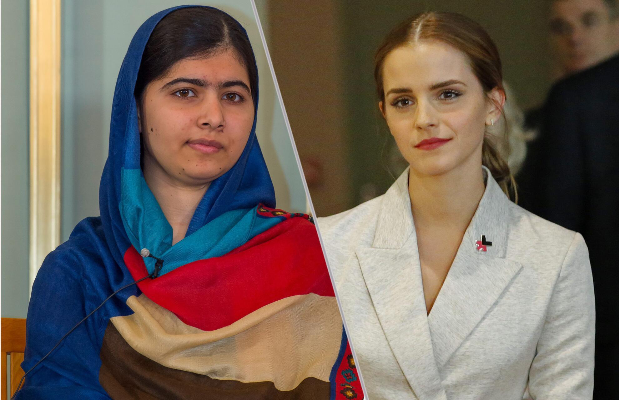 Bild zu Malala Yousafzai, Emma Watson