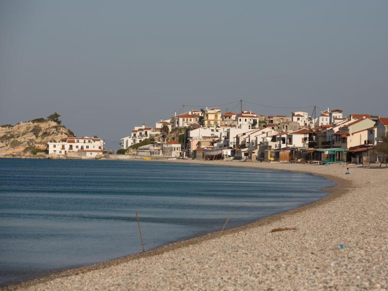 Bild zu Badestarnd auf der griechischen Insel Samos