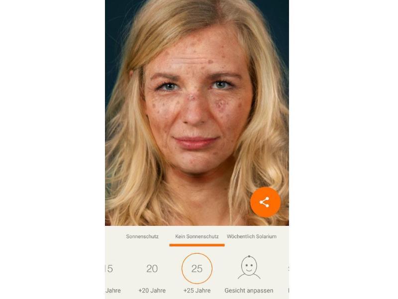 Bild zu Sunface-App