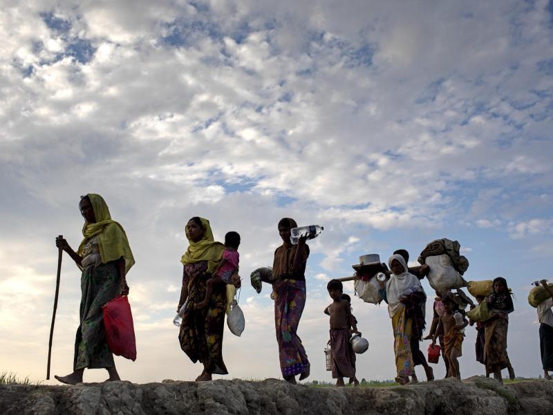 Bild zu Rohingya-Flüchtlinge