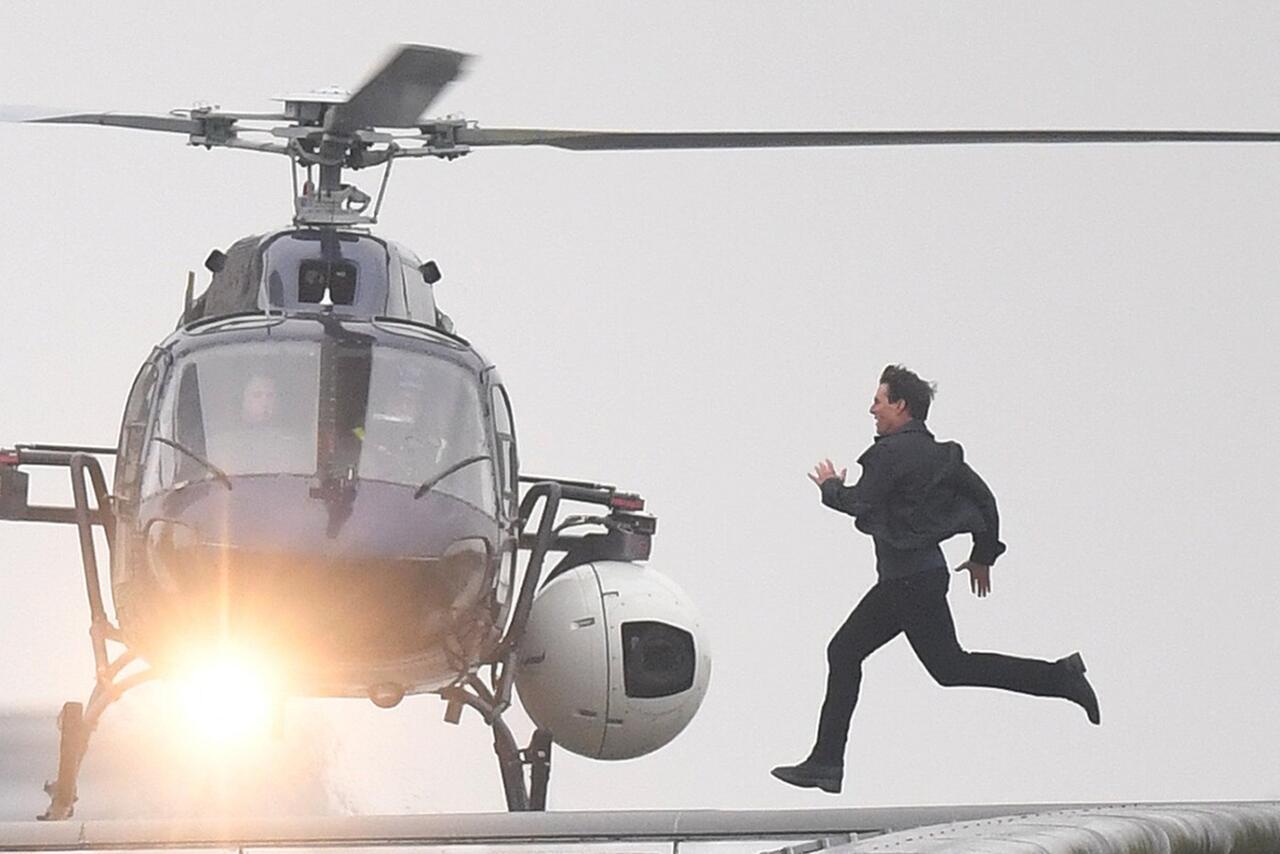 Bild zu Dreharbeiten für Mission Impossible 6 in London