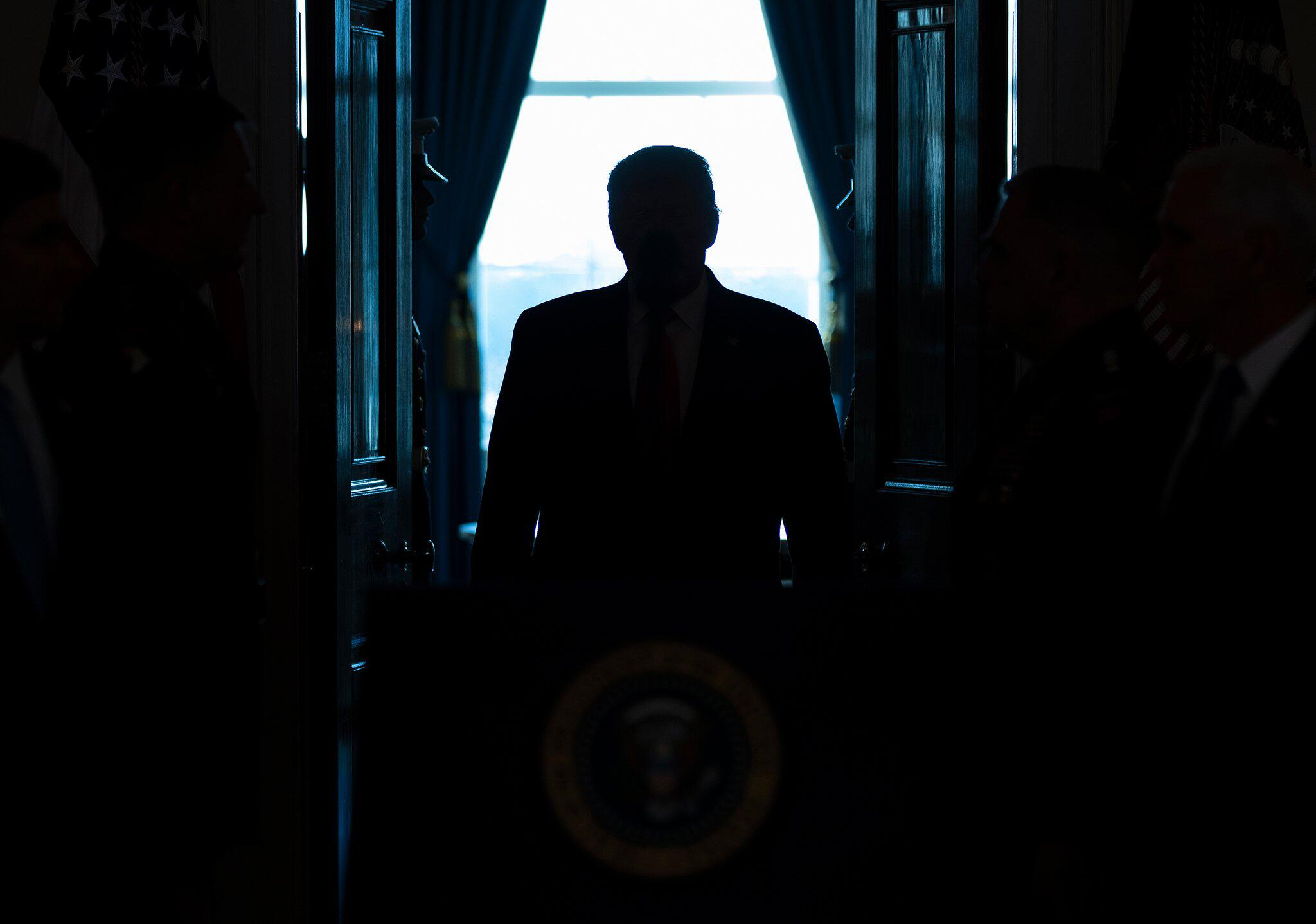 Bild zu Trump äußert sich zu Irans Angriff auf US-Militär