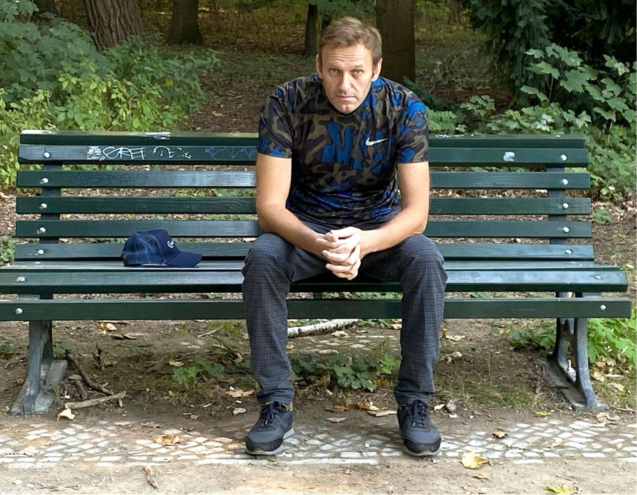 Bild zu Nawalny im «Spiegel»-Interview: Putin steht hinter der Vergiftung