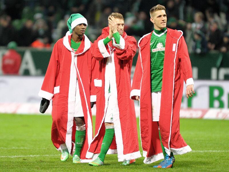 Bild zu Werder Bremen gegen Bayer Leverkusen: Ho ho ho!