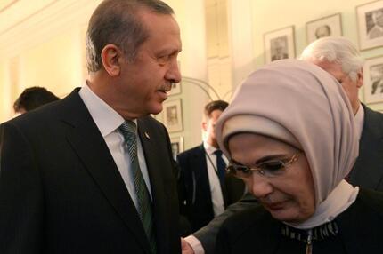Ehepaar Erdogan