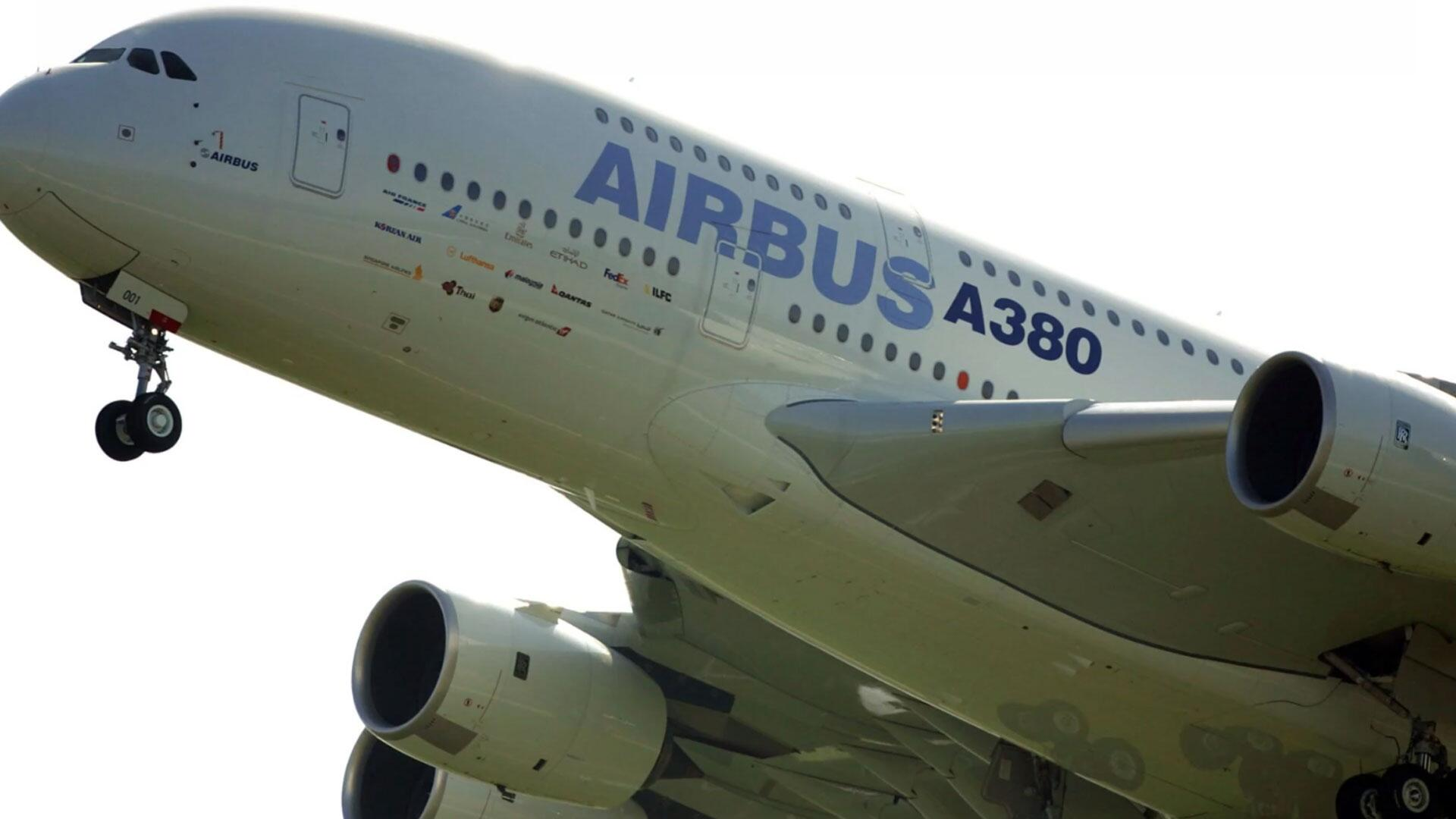 Bild zu Airbus, A380, Airbus A380