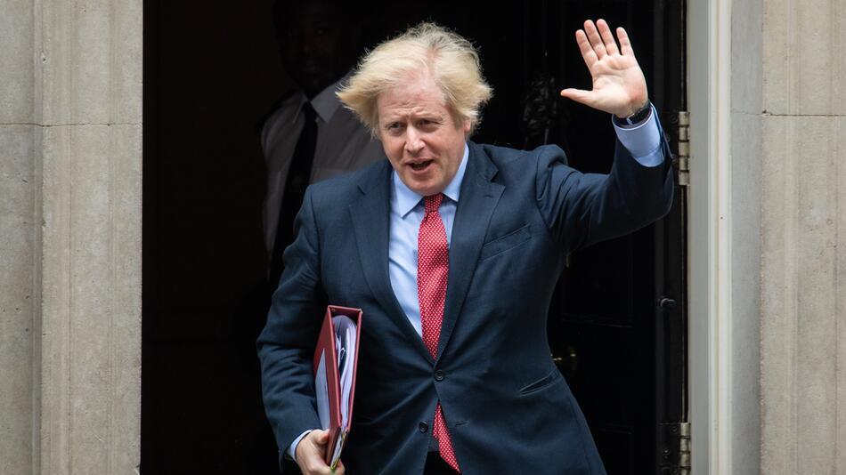 Britischer Premierminister Johnson