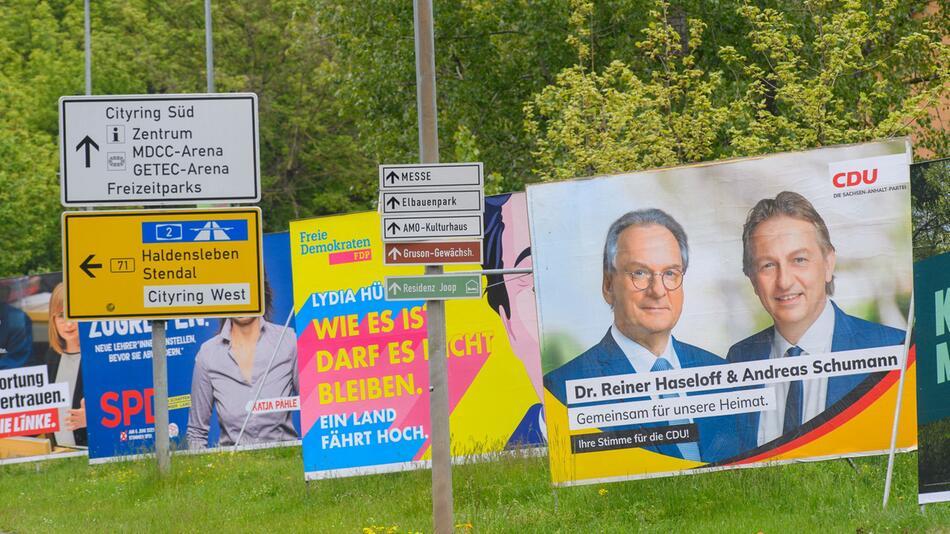 Sachsen-Anhalt vor der Landtagswahl