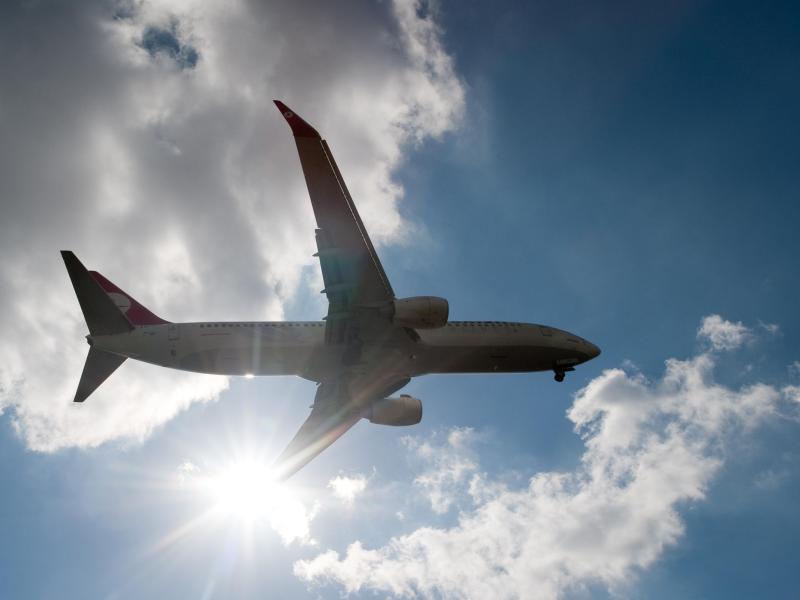 Bild zu Flugzeug in der Luft