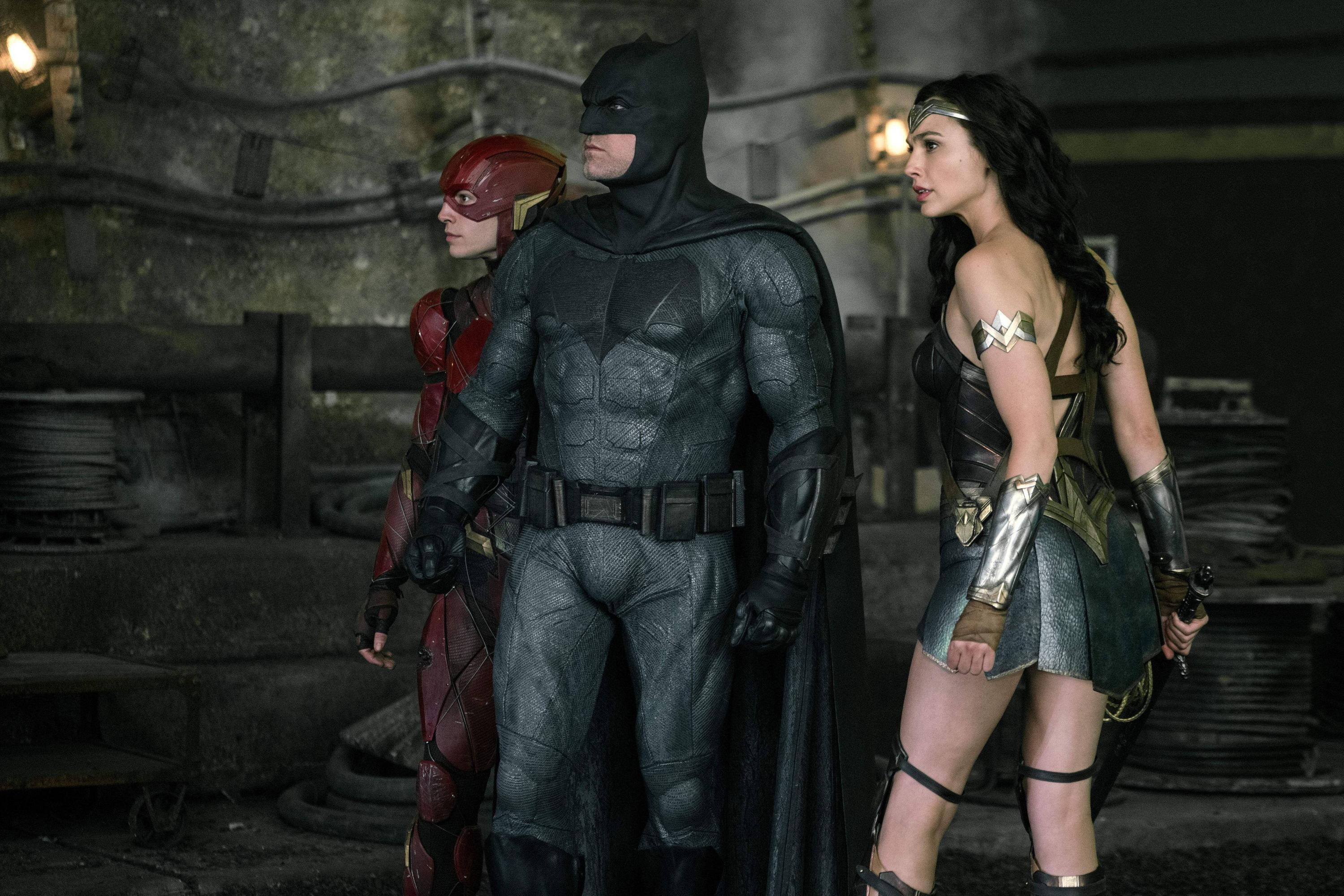 "Bild zu Ben Affleck als Batman in ""Justice League"""