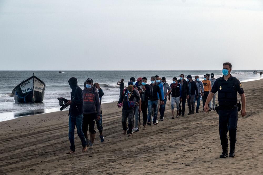 Migranten auf Gran Canaria