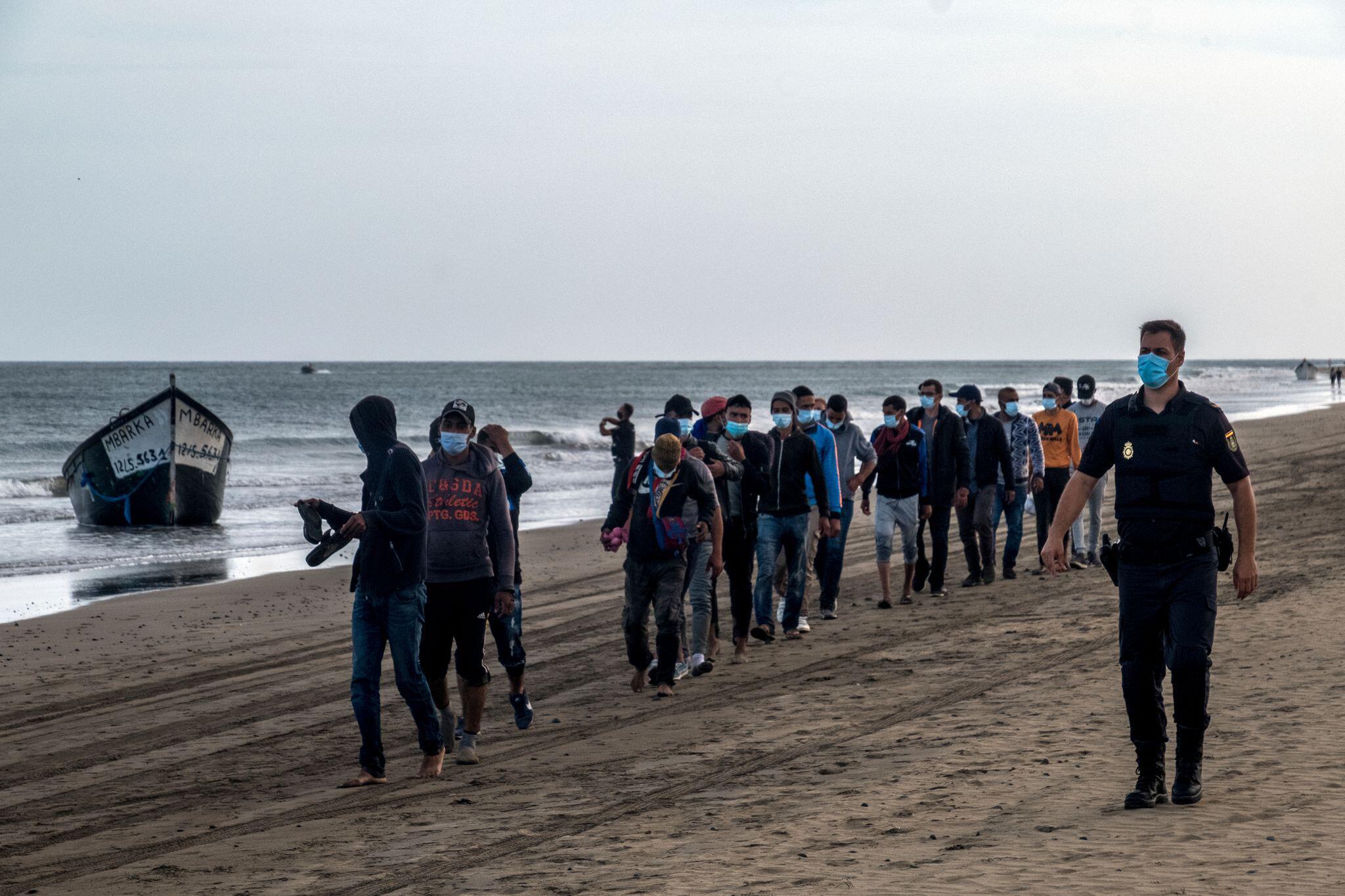 Bild zu Migranten auf Gran Canaria