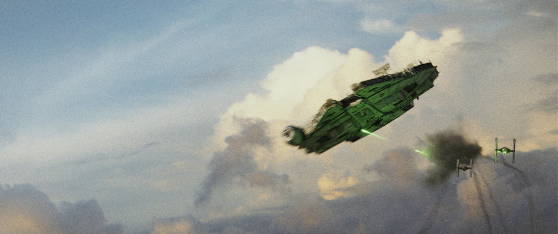 Bild zu Star Wars, Die letzten Jedi, Millenium Falke