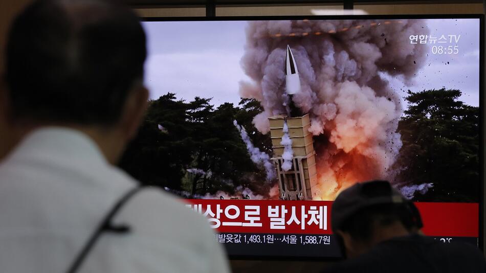 Nordkorea setzt Raketentests fort