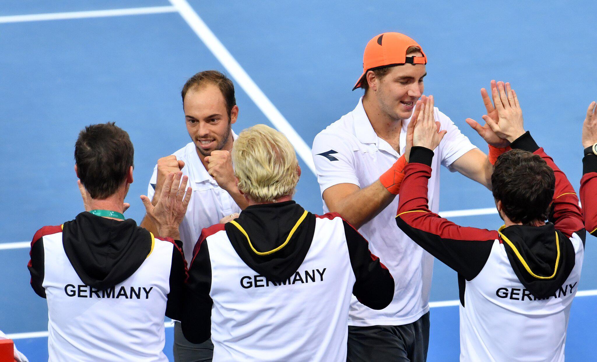 Bild zu Tennis Davis Cup in Australien
