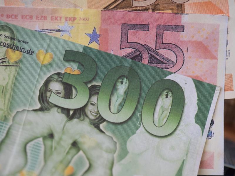 Bild zu Euro-Falschgeld