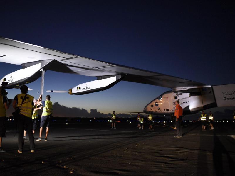 Bild zu Solar Impulse 2
