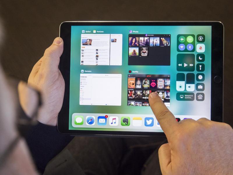 Bild zu iOS 11 auf dem iPad