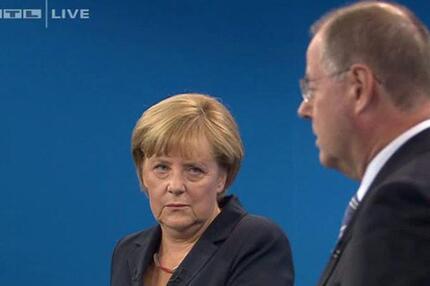 TV-Duell Merkel/Steinbrück