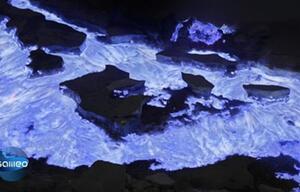 Spuckt dieser Vulkan wirklich blaue Lava?