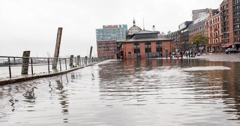 Floods in Hamburg