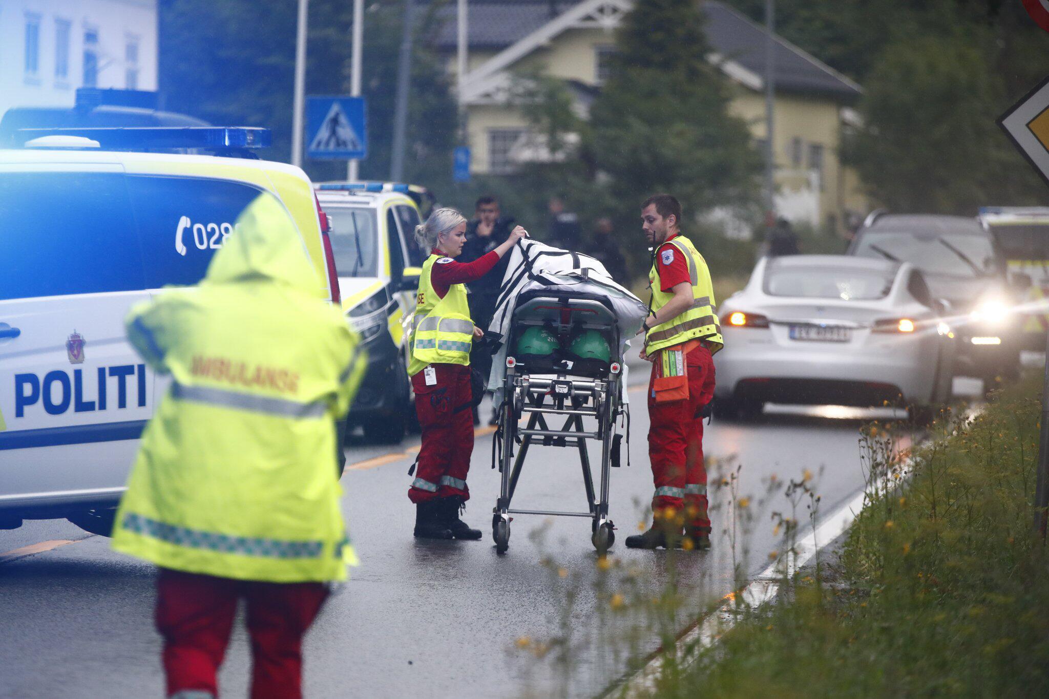 Bild zu Ein Verletzter bei Schüssen in Moschee bei Oslo
