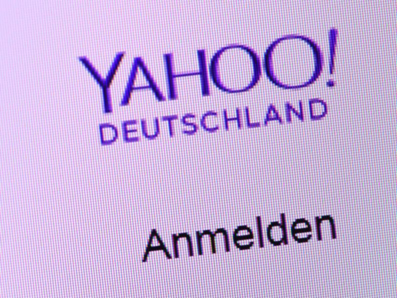 Bild zu Anmelden bei Yahoo