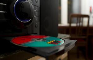 Gefälschte Musik-CD