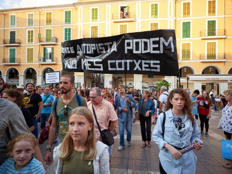 Bild zu Protestaktion