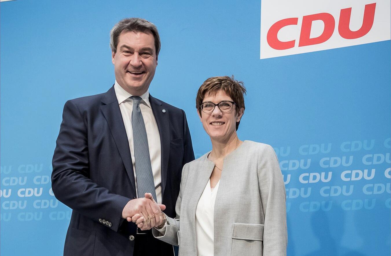 Bild zu Treffen der Vorsitzenden von CDU und CSU