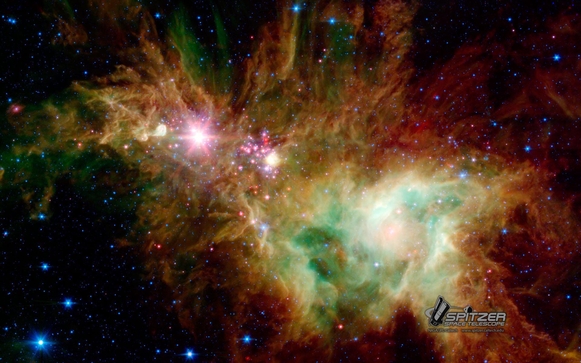 Bild zu Weihnachtsbaum-Sternhaufen