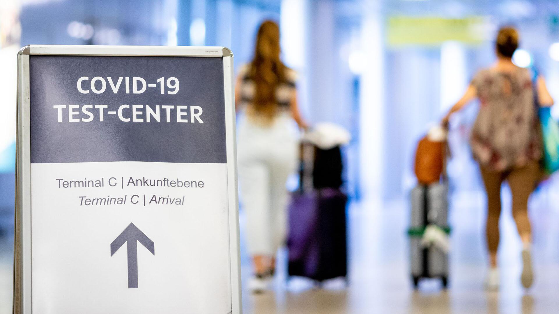 Bild zu Corona-Testzentrum am Flughafen