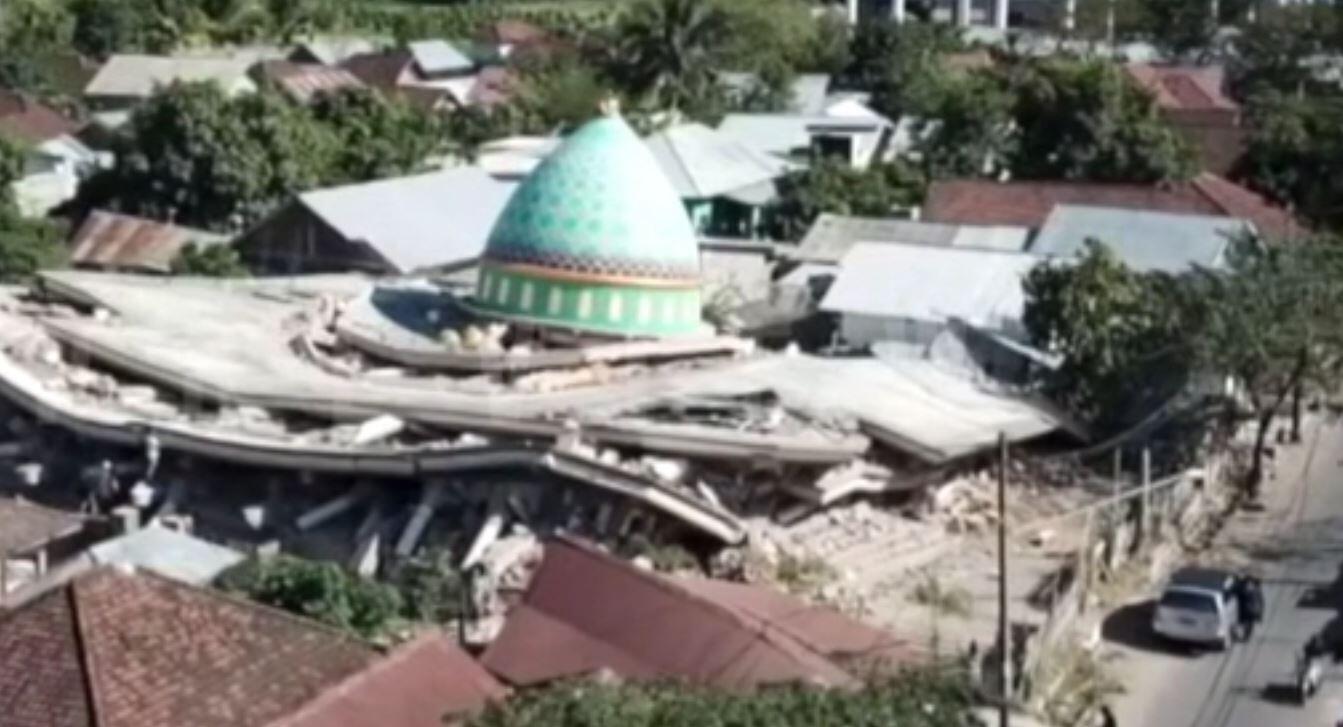Bild zu Lombok Erdbeben
