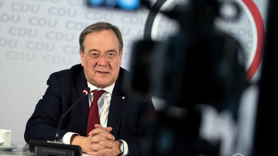 CDU-Bundesvorsitzender Laschet im Interview