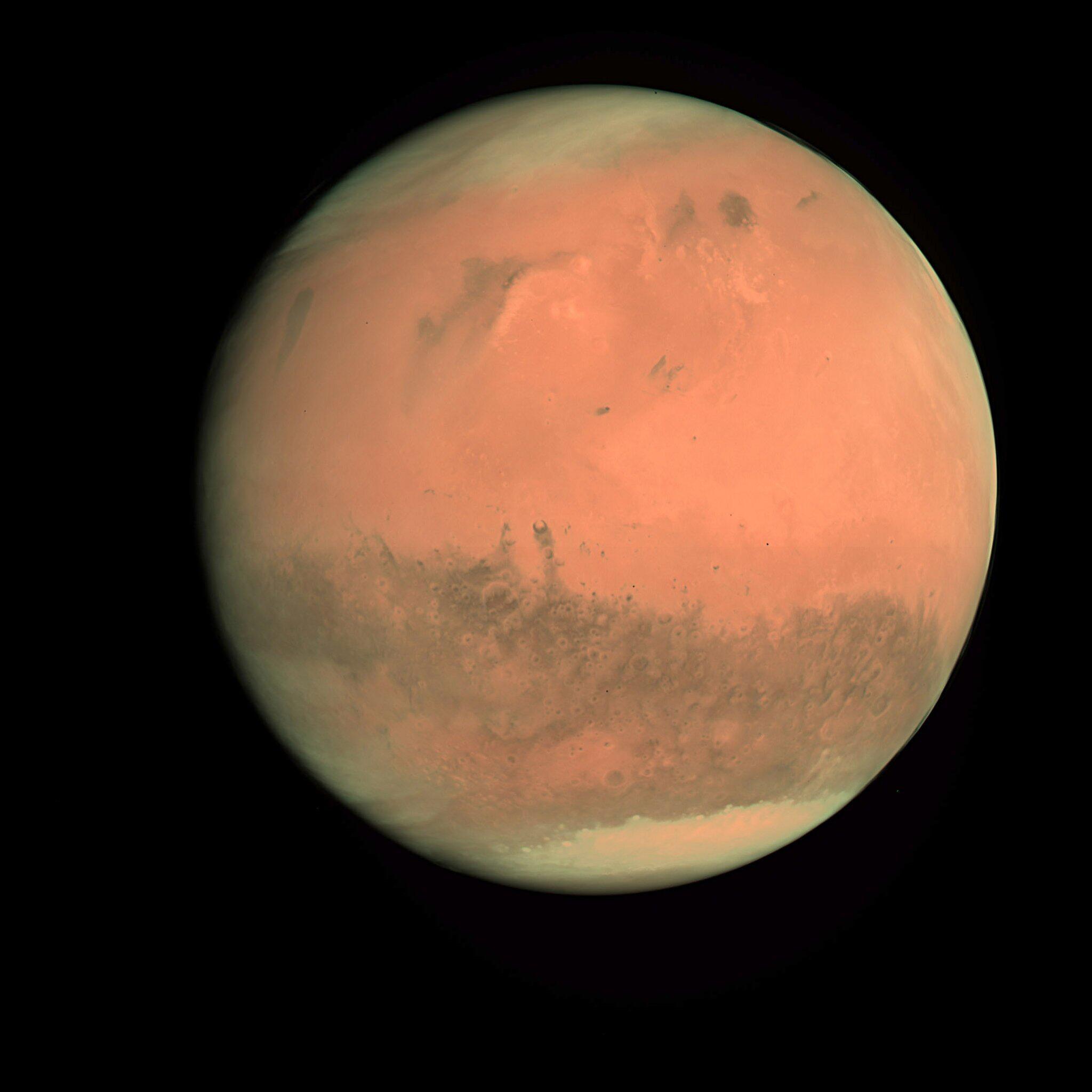 Bild zu Mars, Elon Musk, SpaceX