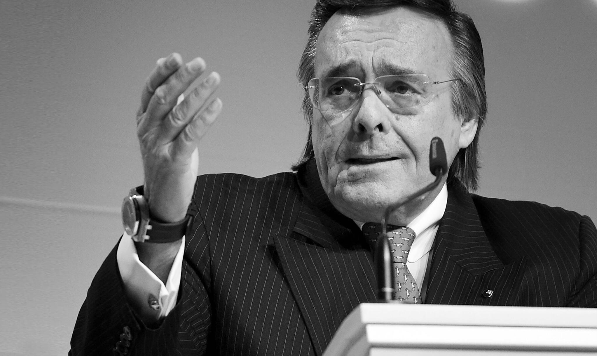 Bild zu Mittelstandspräsident Mario Ohoven stirbt bei Verkehrsunfall
