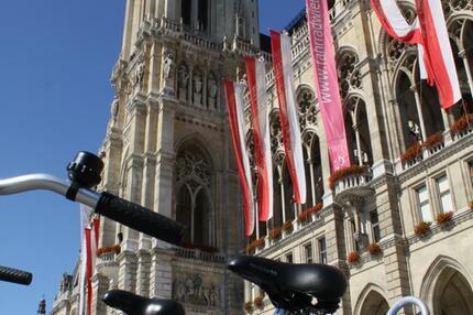 Wiener Rathaus Citybike