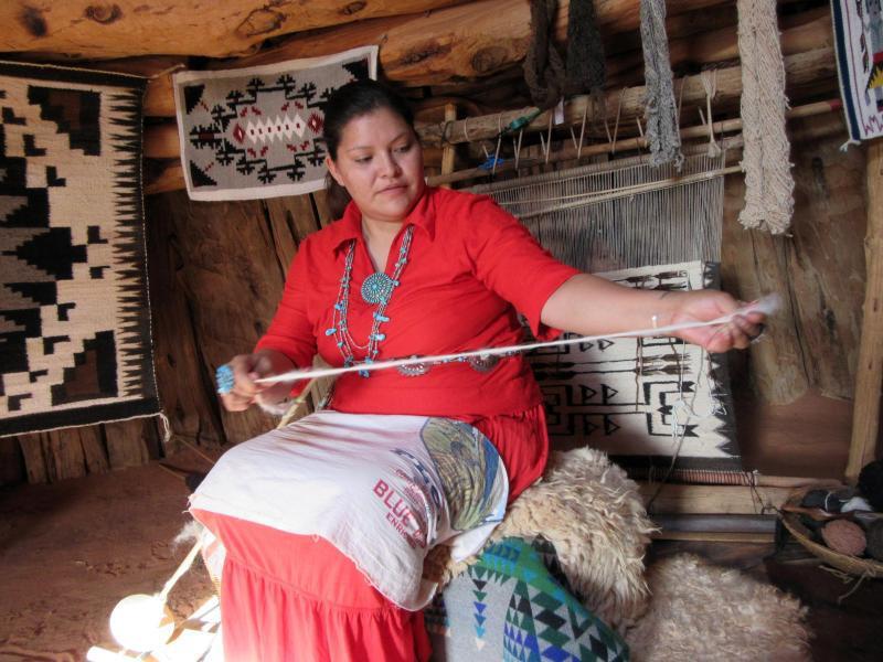 Bild zu Navajo-Frau Eula