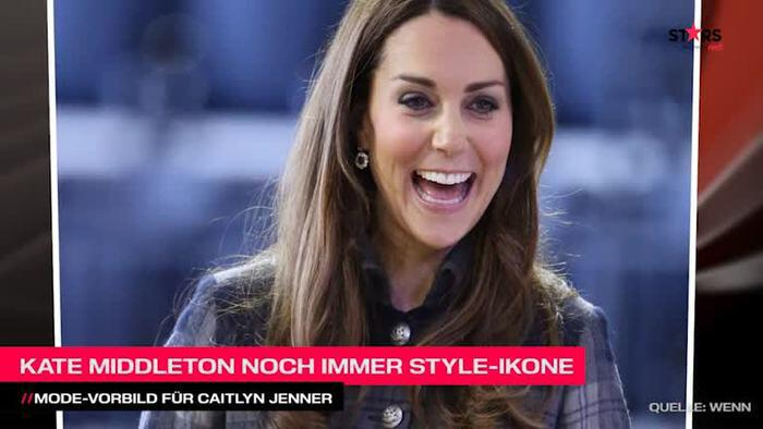 Bild zu Kate Middleton bleibt Stilikone: Modevorbild für Caitlyn Jenner