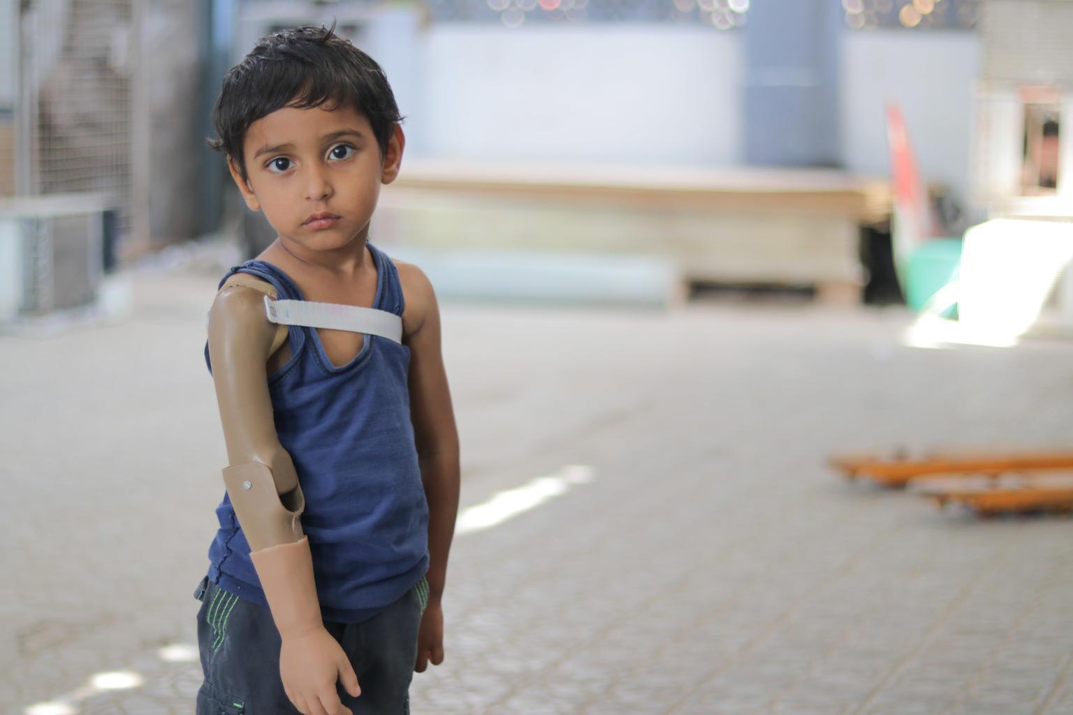 Bild zu Jemen, Prothes, Kinder