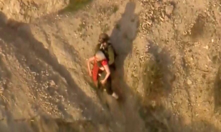 Bild zu Klettern, Rettung