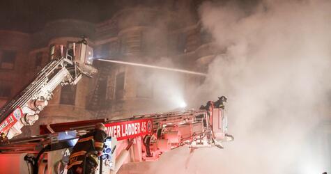 Brand auf Set von neuem Edward Norton-Film