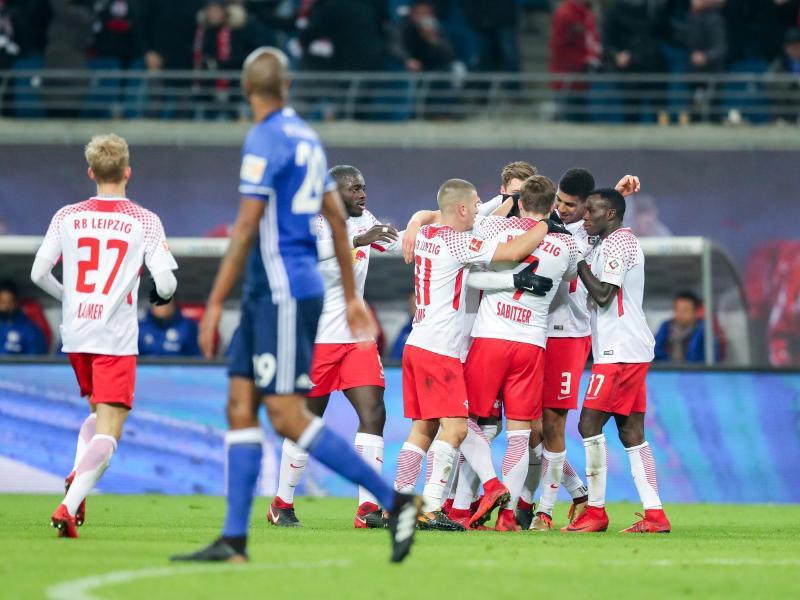 Bild zu RB Leipzig - FC Schalke 04