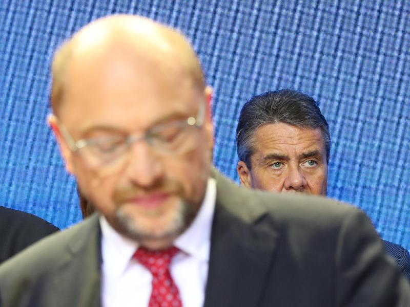 Bild zu Schulz und Gabriel
