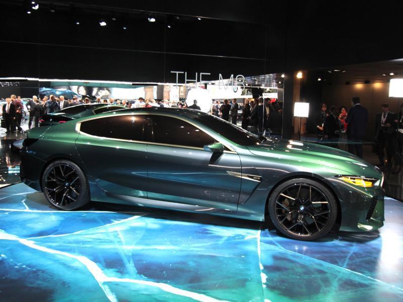 Bild zu BMW M8 Gran Coupé