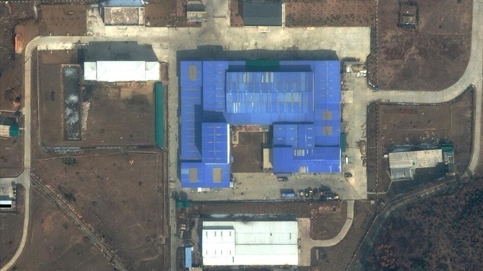 Satellitenbilder zeigen möglichen Raketenbau in Nordkorea