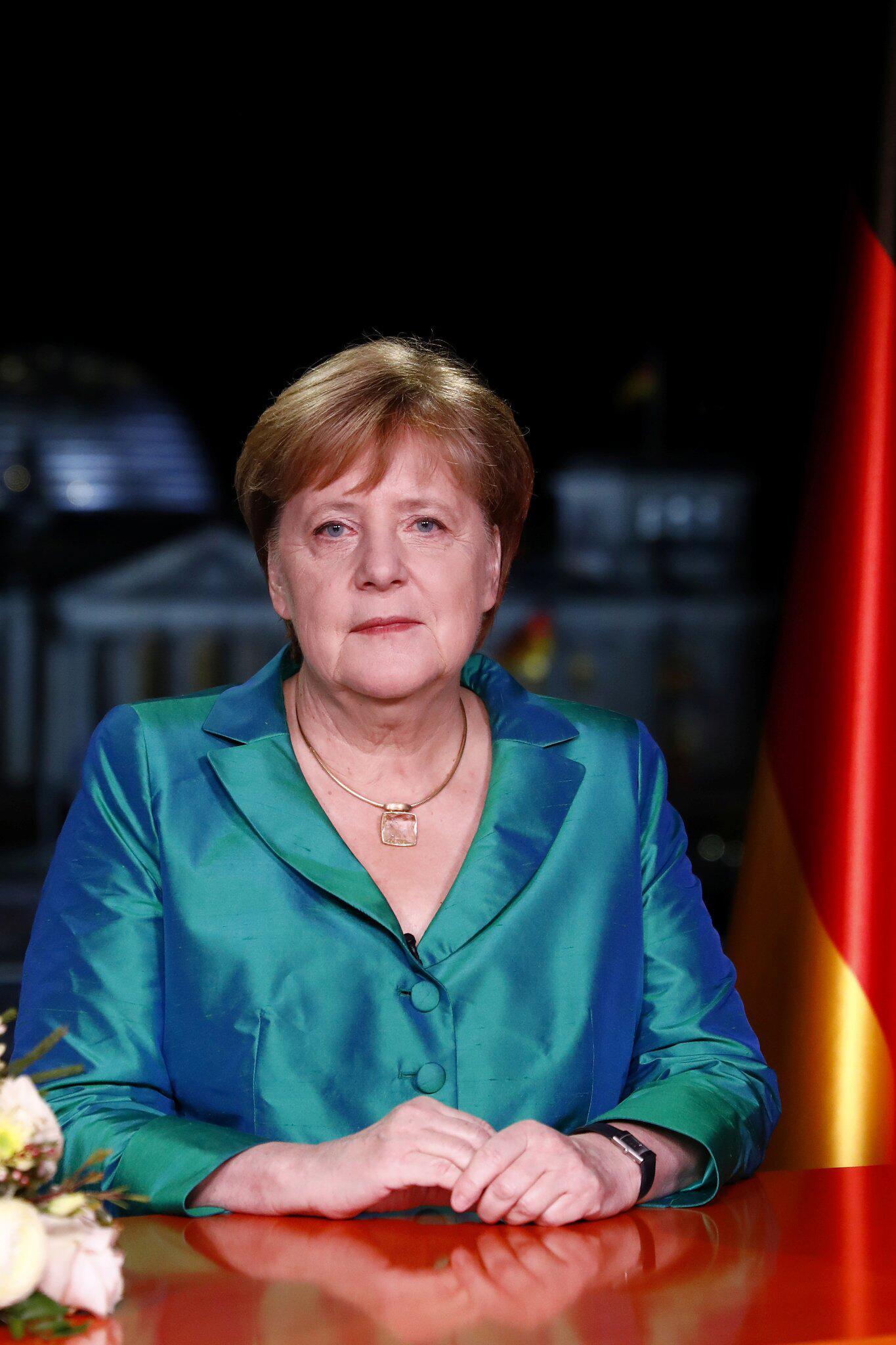 Bild zu Neujahrsansprache Bundeskanzlerin Angela Merkel