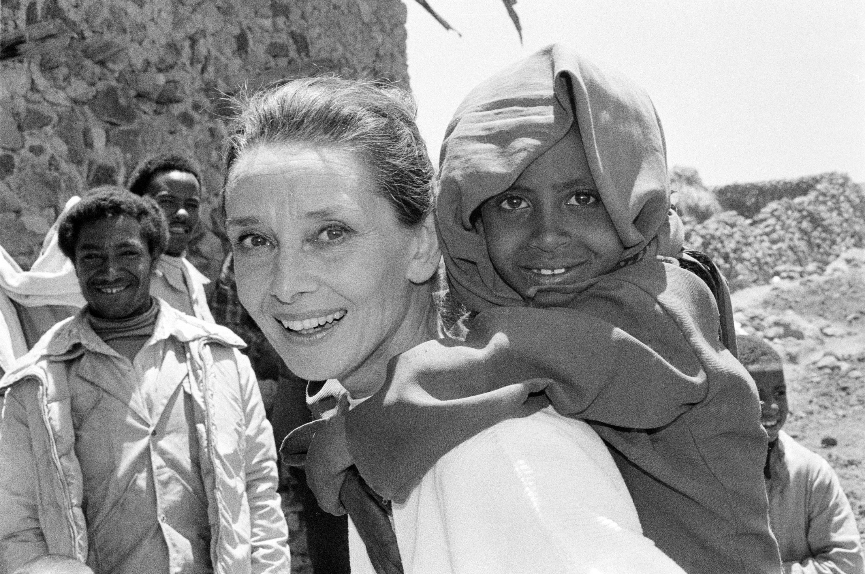 Bild zu Audrey Hepburn, UNICEF, Äthiopien
