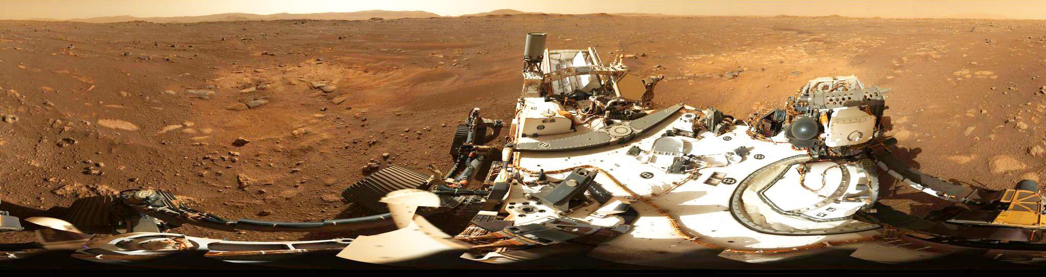 Bild zu Nasa-Rover «Perseverance» auf dem Mars